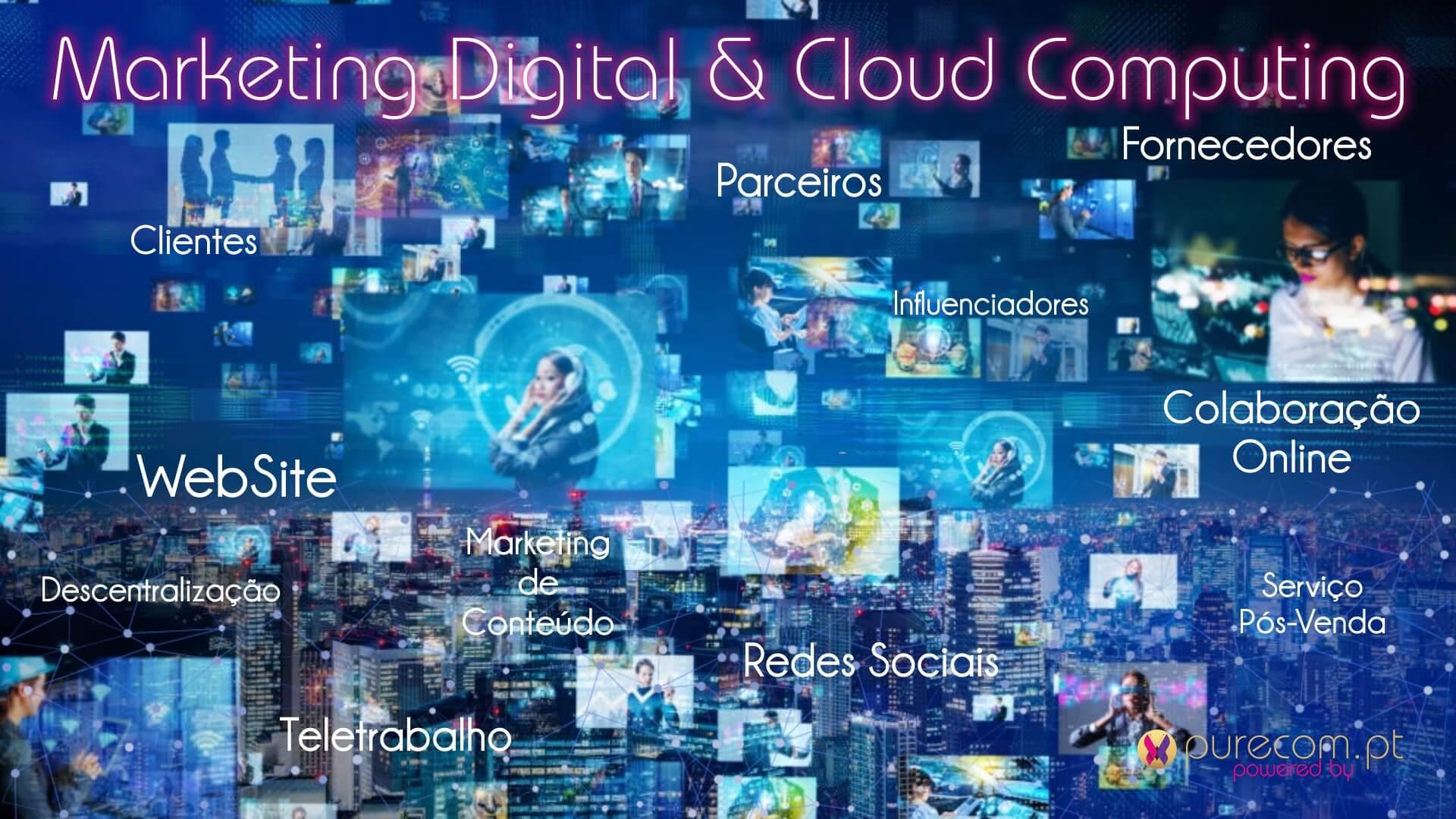 #Marketing Digital #Cloud Computing #Colaboração Online